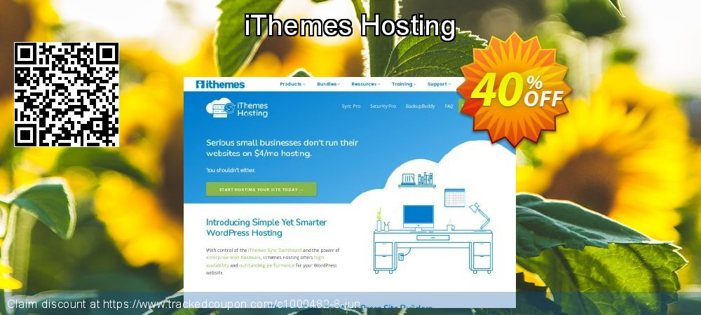 iThemes Hosting coupon on Social Media Day sales