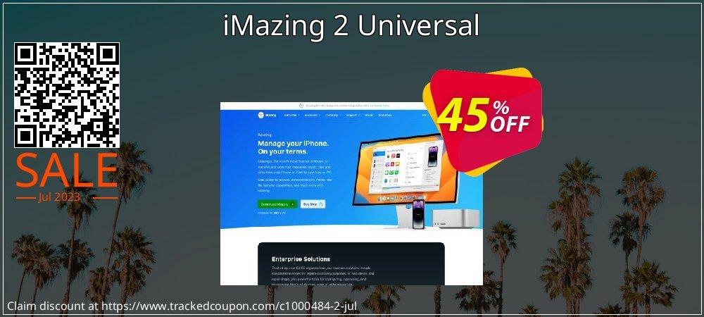 Get 45% OFF iMazing 2 Universal offering sales