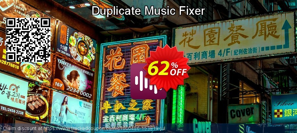 Duplicate Music Fixer coupon on Lunar New Year sales
