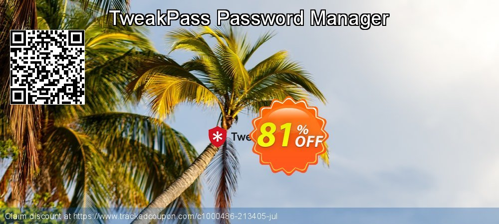 TweakPass Password Manager coupon on New Year's Day super sale