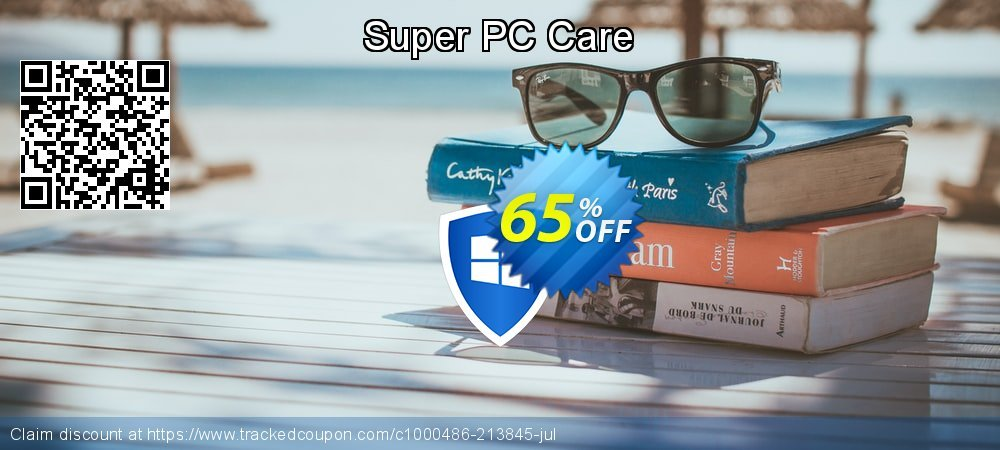 Super PC Care coupon on New Year's Day offering sales
