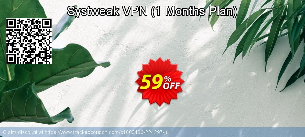 Systweak VPN - 1 Months Plan  coupon on New Year's Day promotions