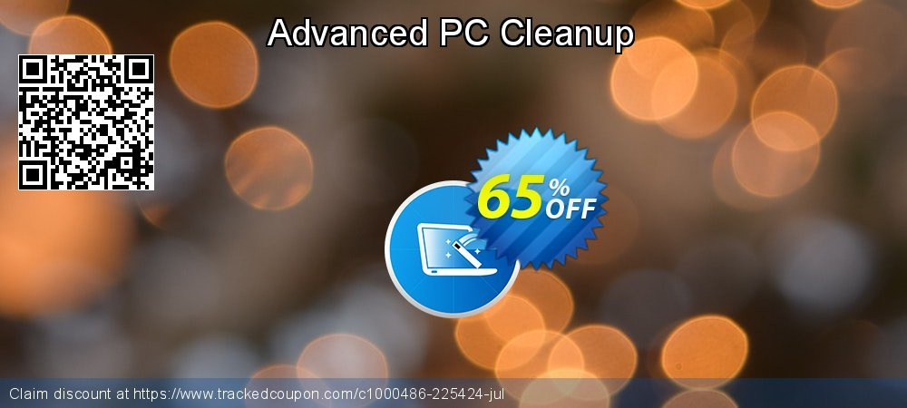 Advanced PC Cleanup coupon on New Year deals