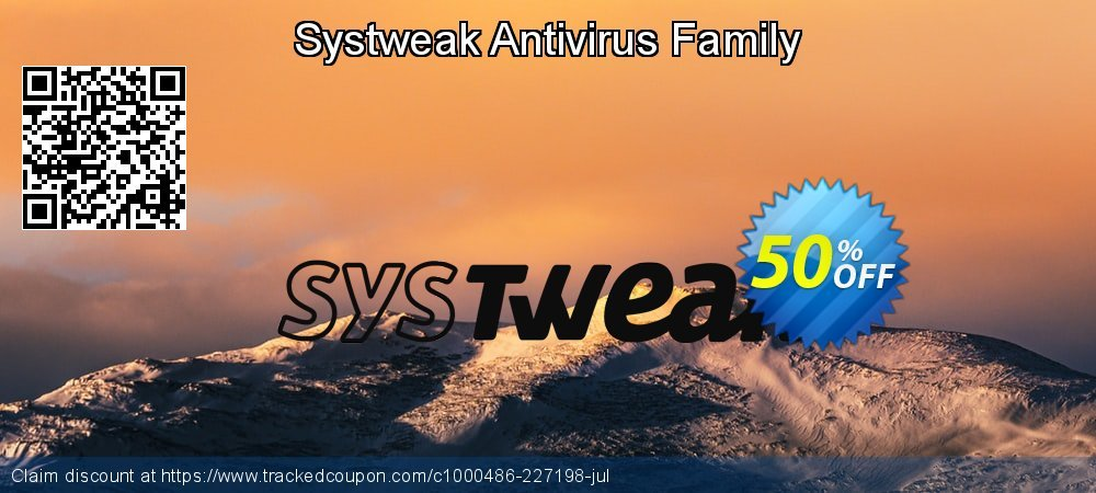 Systweak Antivirus Family coupon on Happy New Year offer