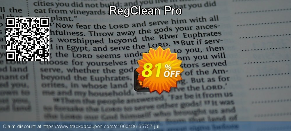 Get 80% OFF RegClean Pro offering sales