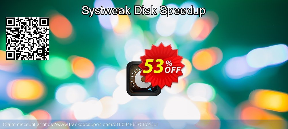 Systweak Disk Speedup coupon on Happy New Year offer