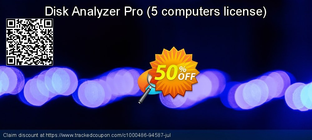 Disk Analyzer Pro - 5 computers license  coupon on Lunar New Year super sale