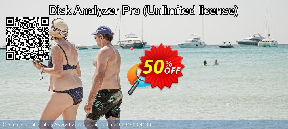 Disk Analyzer Pro - Unlimited license  coupon on New Year's Day promotions