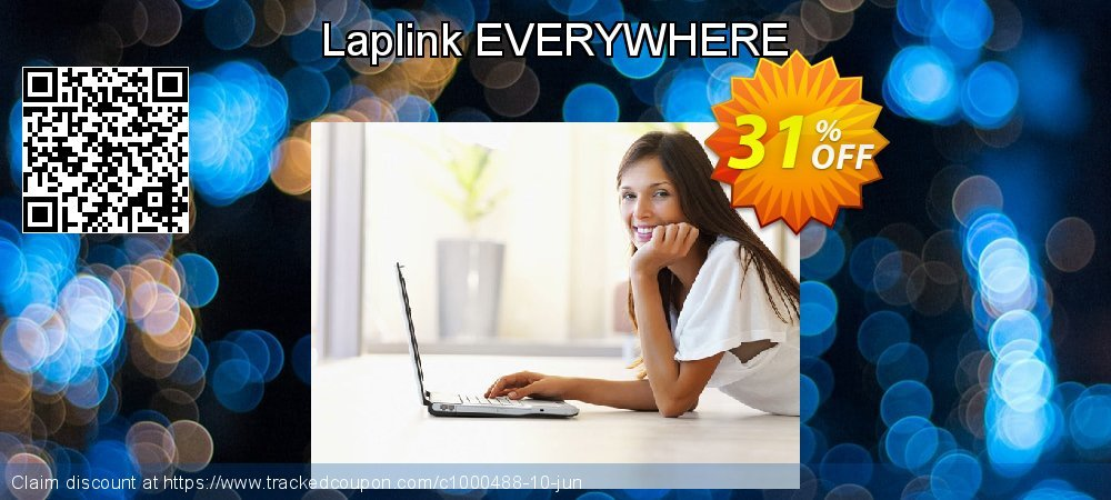 Laplink EVERYWHERE coupon on Halloween discount