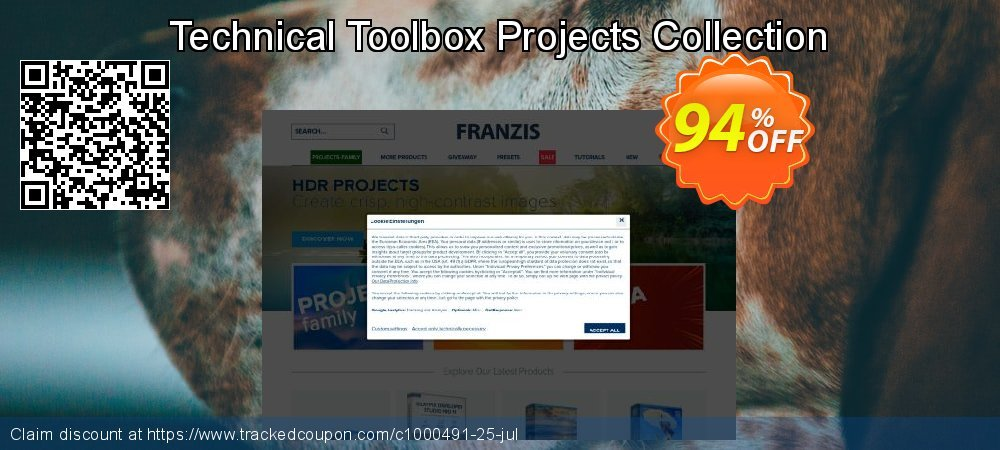 Get 20% OFF Technical Toolbox Projects Collection discounts