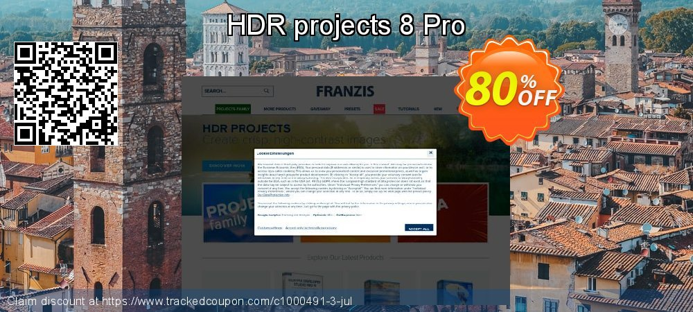 Get 20% OFF HDR projects 8 Pro offering sales