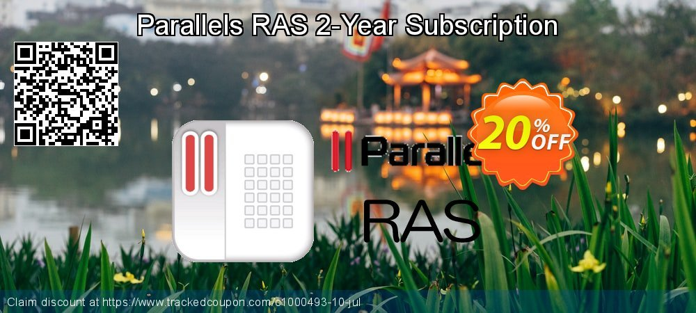 Parallels RAS 2-Year Subscription coupon on National Noodle Day promotions