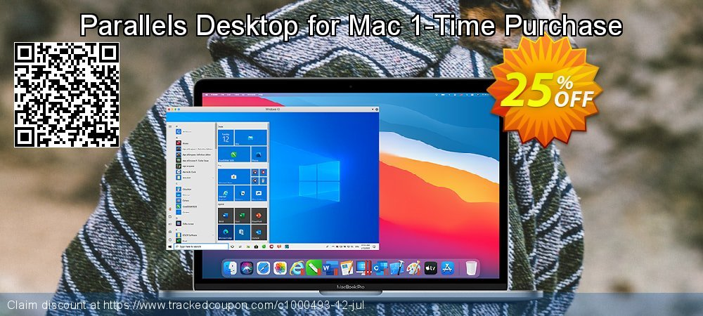 Parallels Desktop for Mac 1-Time Purchase coupon on Coffee Day deals