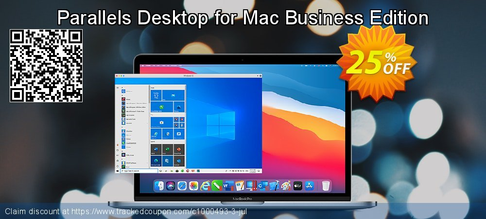 Parallels Desktop for Mac Business Edition coupon on World Smile Day deals