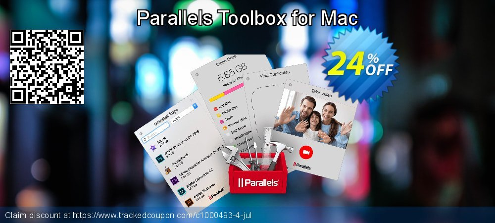 Parallels Toolbox for Mac coupon on Halloween offer