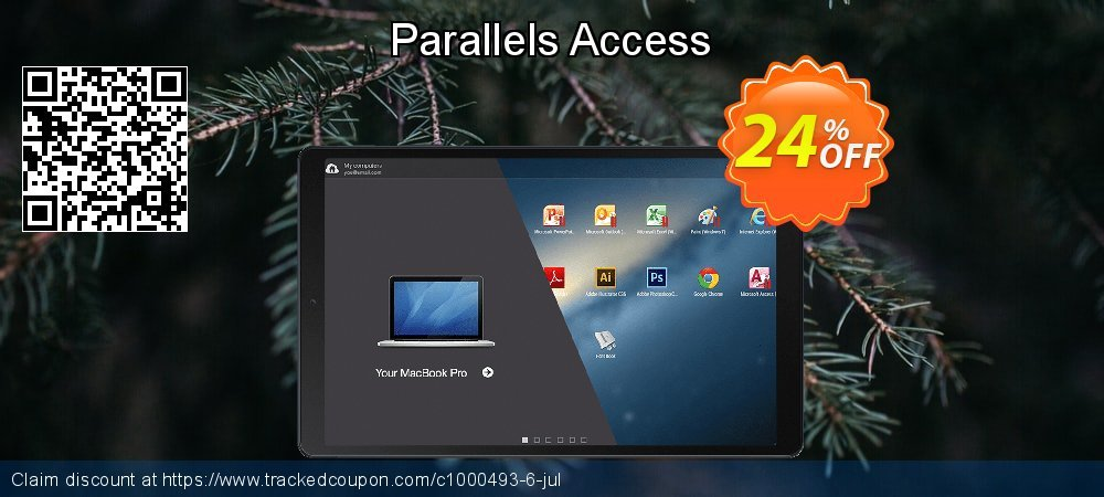Parallels Access coupon on World Teachers' Day offering discount
