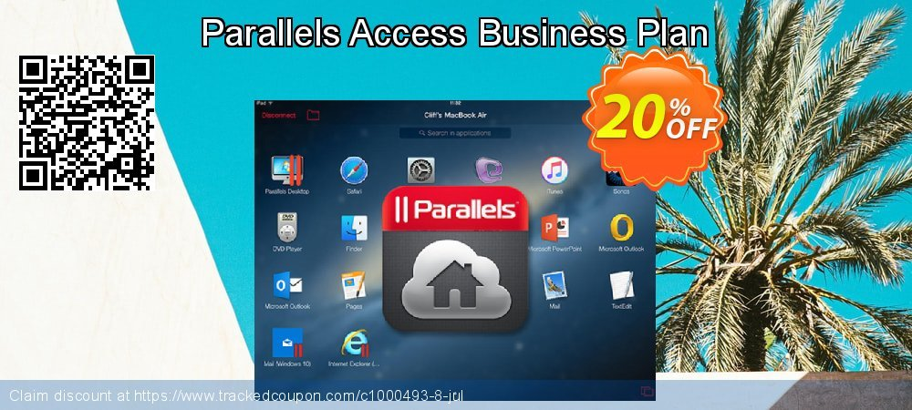 Parallels Access Business Plan coupon on National Noodle Day super sale