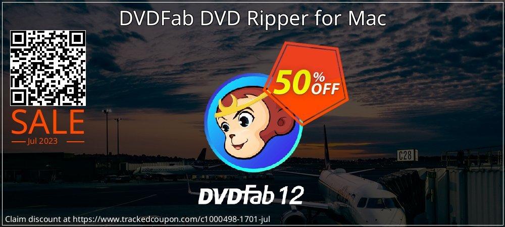 DVDFab DVD Ripper for Mac coupon on Eid al-Adha sales