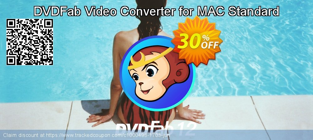 DVDFab Video Converter for MAC Standard coupon on World Population Day offer
