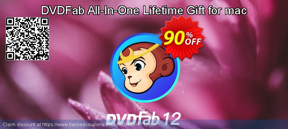 DVDFab All-In-One Lifetime Gift for mac coupon on National French Fry Day offer