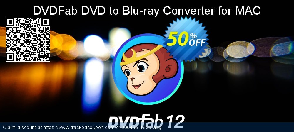 DVDFab DVD to Blu-ray Converter for MAC coupon on Video Game Day super sale