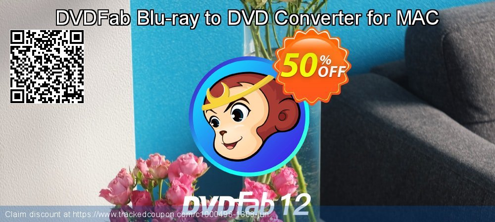 DVDFab Blu-ray to DVD Converter for MAC coupon on Nude Day promotions