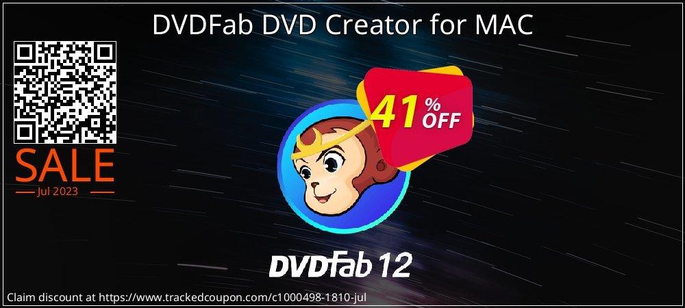 DVDFab DVD Creator for MAC coupon on Emoji Day deals