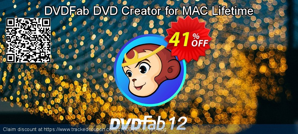 DVDFab DVD Creator for MAC Lifetime coupon on World UFO Day offer