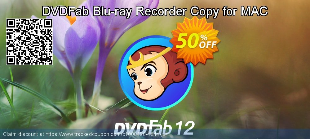 DVDFab Blu-ray Recorder Copy for MAC coupon on American Independence Day offering sales