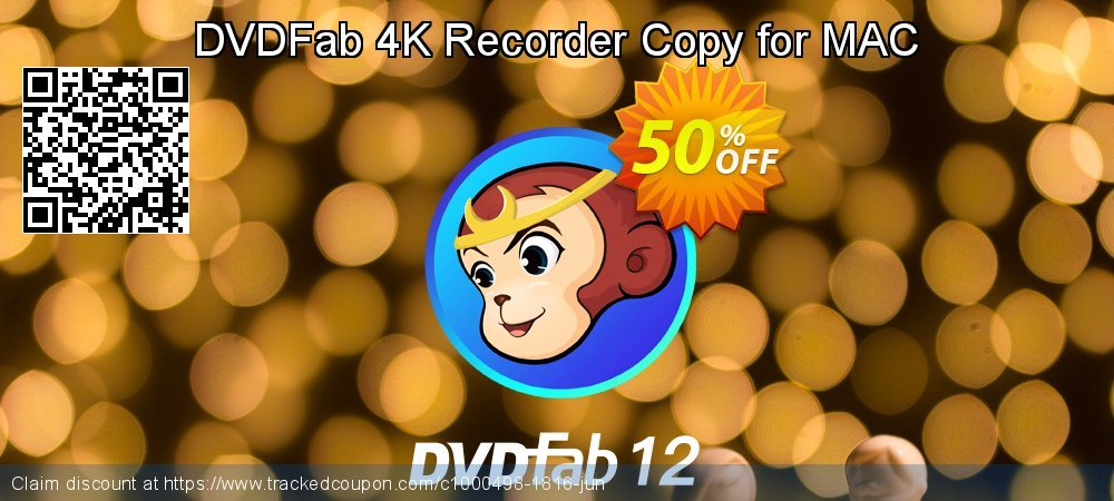 DVDFab 4K Recorder Copy for MAC coupon on National French Fry Day discounts