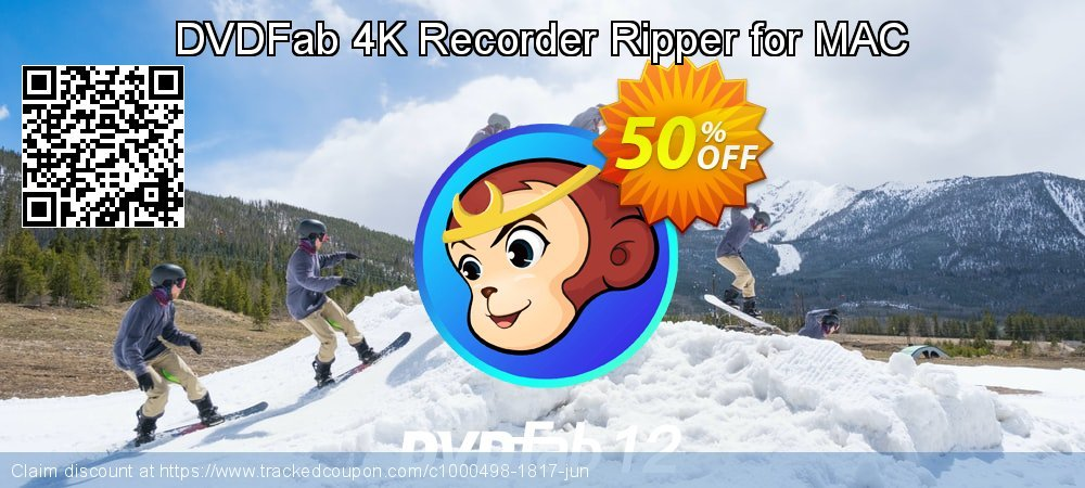DVDFab 4K Recorder Ripper for MAC coupon on World UFO Day promotions