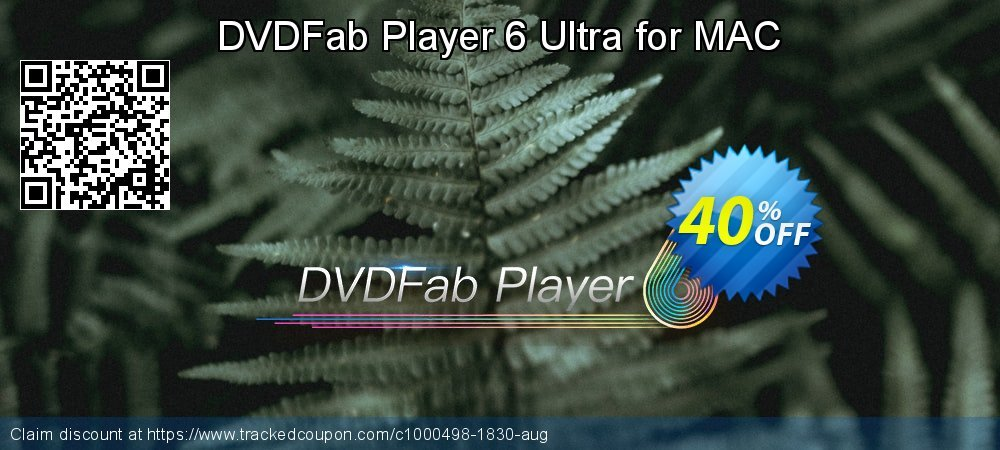 DVDFab Player 6 Ultra for MAC coupon on World UFO Day discount