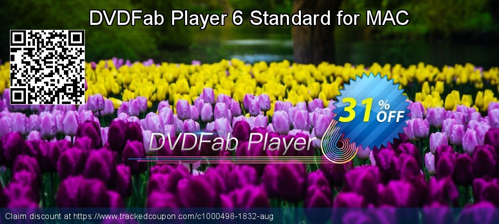 DVDFab Player 6 Standard for MAC coupon on Video Game Day offering sales