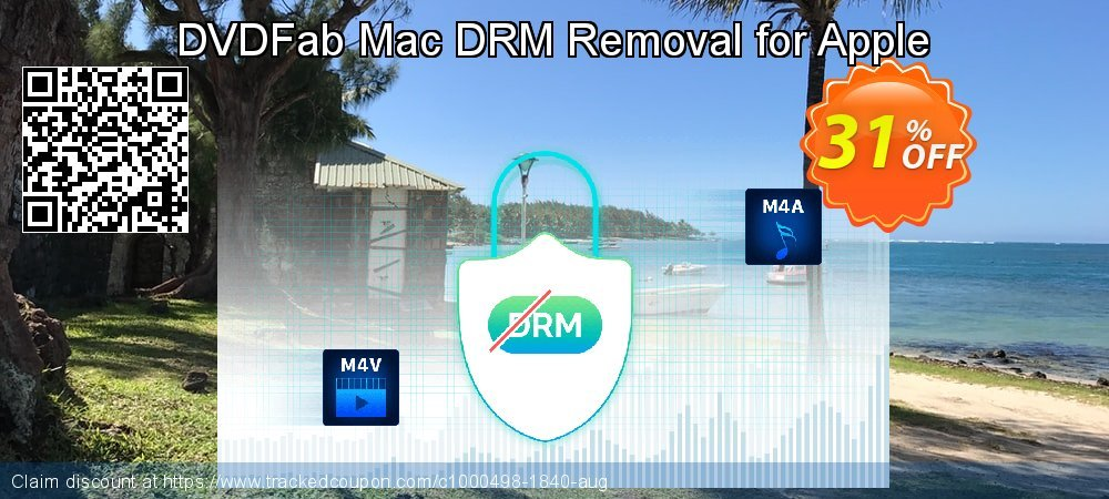DVDFab Mac DRM Removal for Apple coupon on American Independence Day offering discount