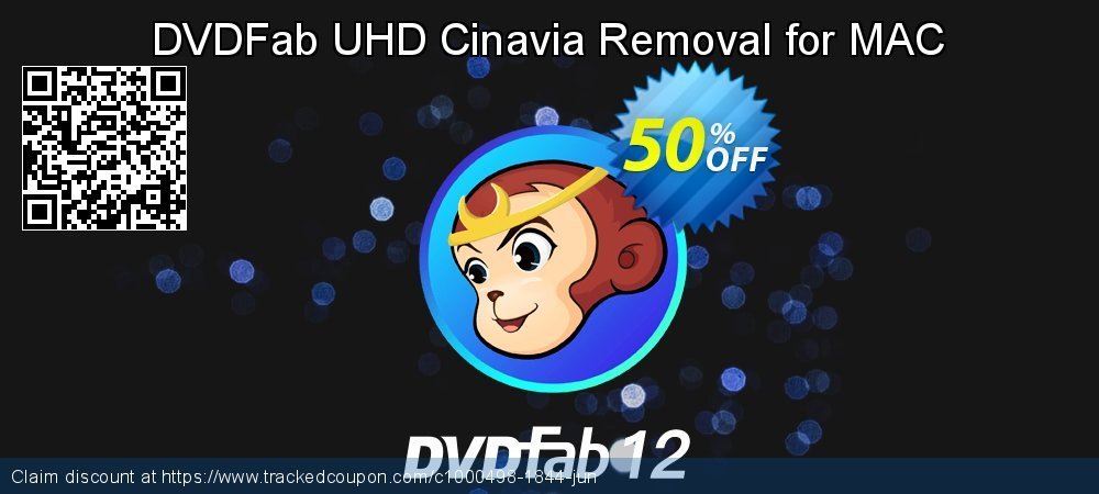 DVDFab UHD Cinavia Removal for MAC coupon on Eid al-Adha promotions