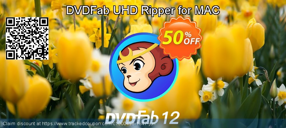 DVDFab UHD Ripper for MAC coupon on Nude Day offer