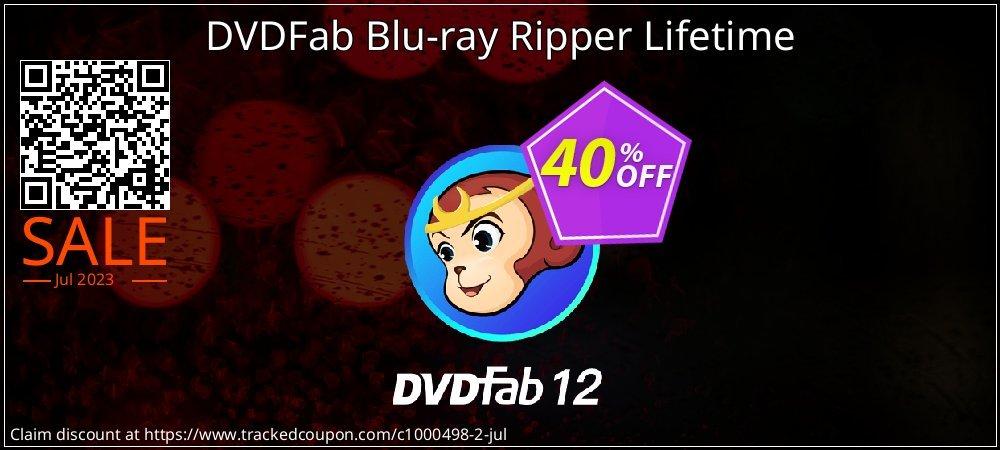 DVDFab Blu-ray Ripper Lifetime coupon on Eid al-Adha offer