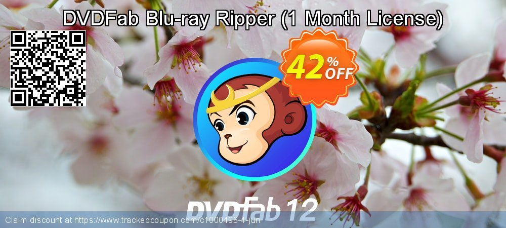 DVDFab Blu-ray Ripper - 1 Month License  coupon on World Population Day offering discount