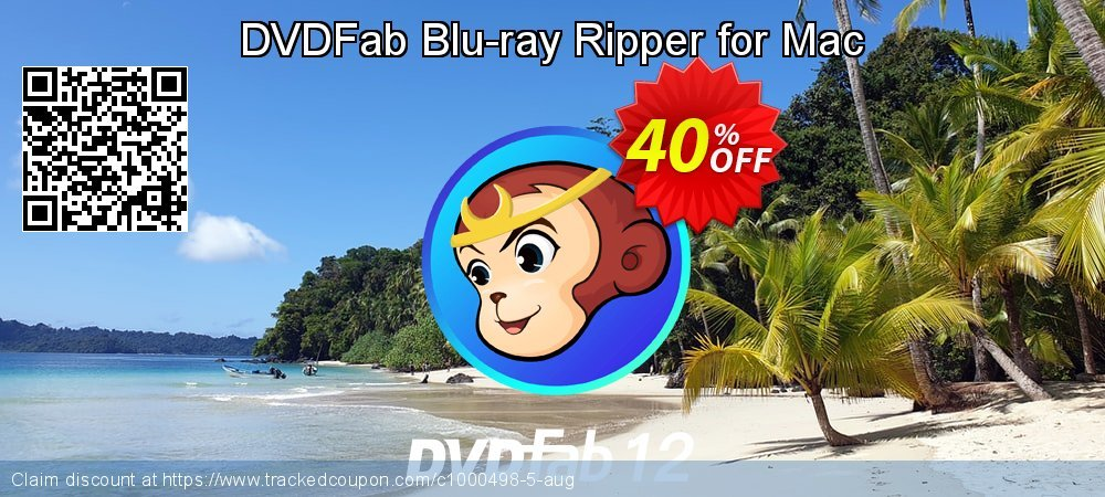 DVDFab Blu-ray Ripper for Mac coupon on Nude Day offering sales