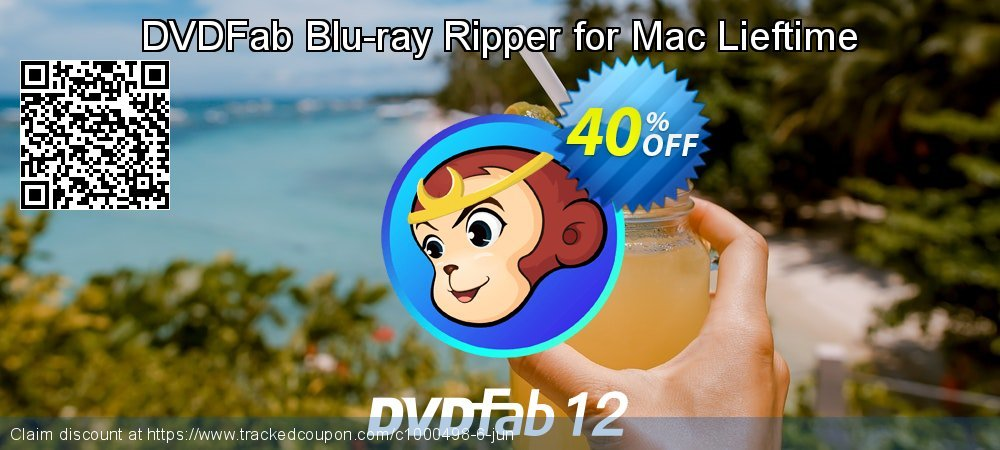 DVDFab Blu-ray Ripper for Mac Lieftime coupon on Tattoo Day super sale