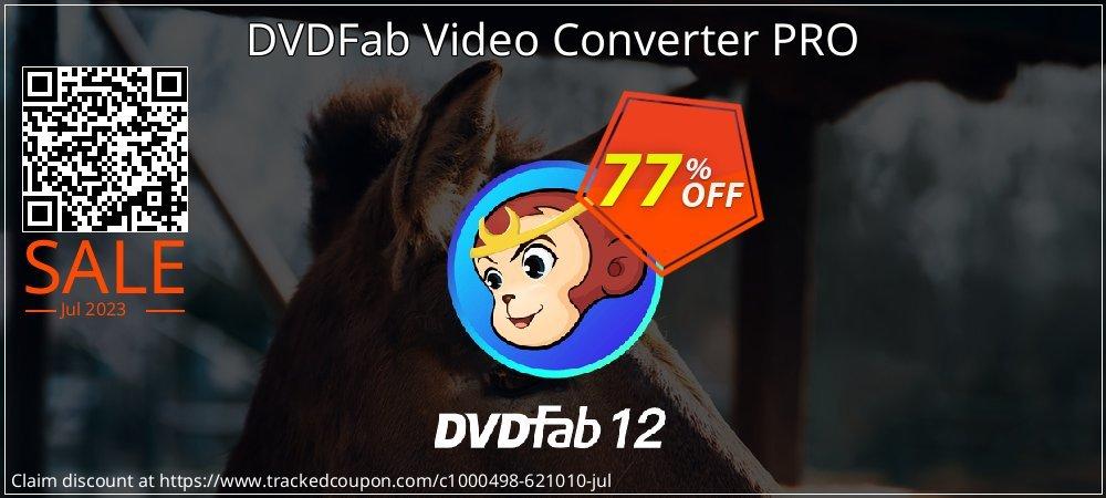 DVDFab Video Converter PRO coupon on Emoji Day deals