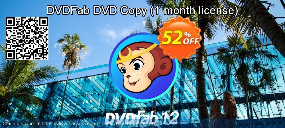 DVDFab DVD Copy - 1 month license  coupon on World Chocolate Day sales