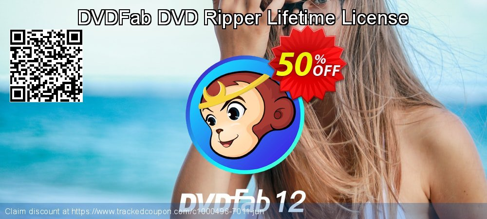 DVDFab DVD Ripper Lifetime License coupon on Parents' Day sales