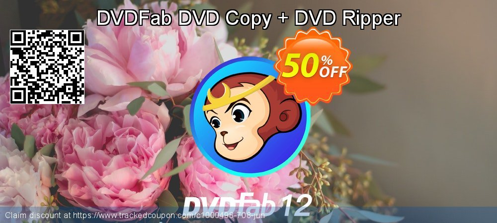DVDFab DVD Copy + DVD Ripper coupon on Video Game Day super sale