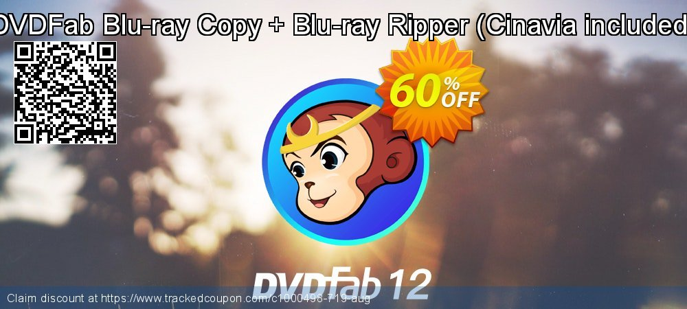DVDFab Blu-ray Copy + Blu-ray Ripper - Cinavia included  coupon on World UFO Day promotions