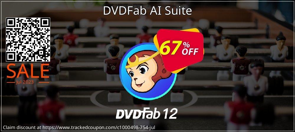 DVDFab AI Suite coupon on National Bikini Day discounts