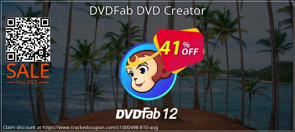 DVDFab DVD Creator coupon on World UFO Day sales