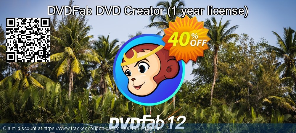 DVDFab DVD Creator - 1 year license  coupon on Parents' Day discount