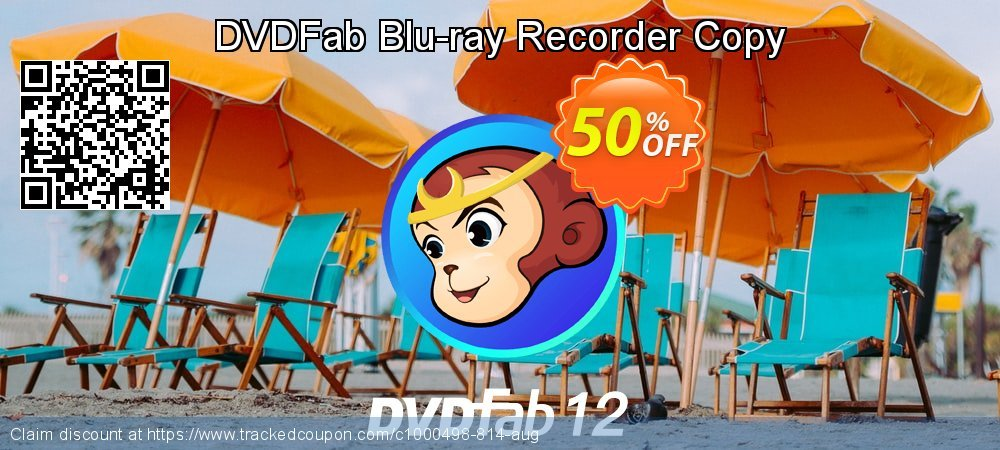 DVDFab Blu-ray Recorder Copy coupon on Nude Day offering discount