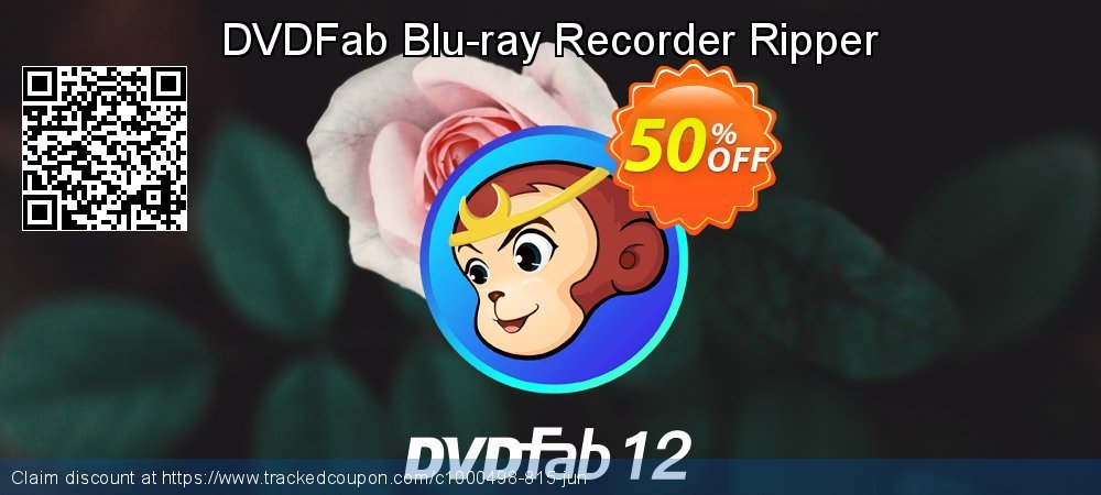 DVDFab Blu-ray Recorder Ripper coupon on Tattoo Day offering sales